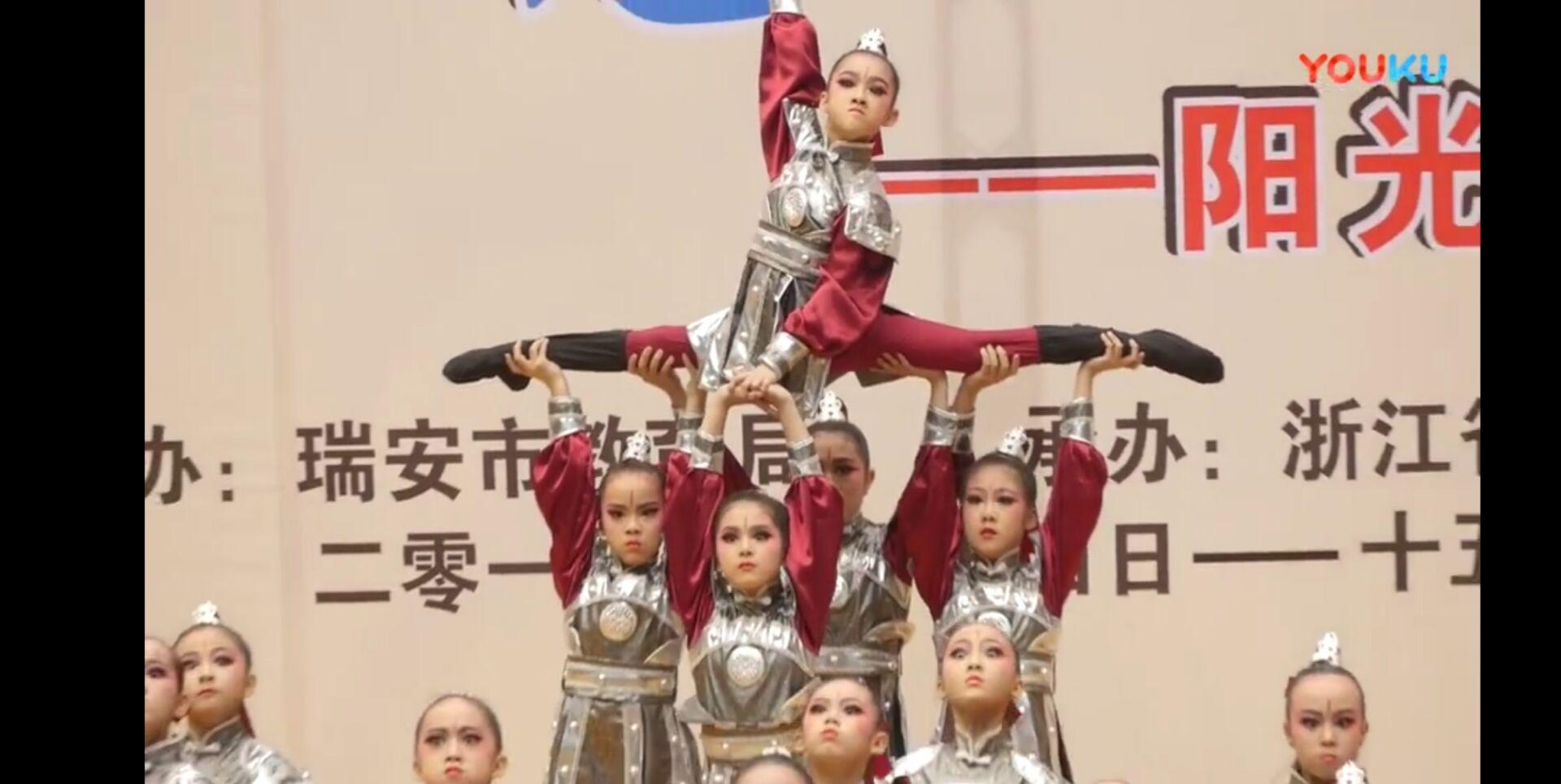 儿童古代士兵演出服古装盔甲男女童戏曲表群舞《花木兰》将军服装