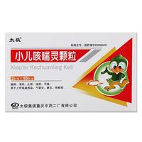 Taiji Xiaoer Kechuanling Granules 2g * 10 мешков / коробка