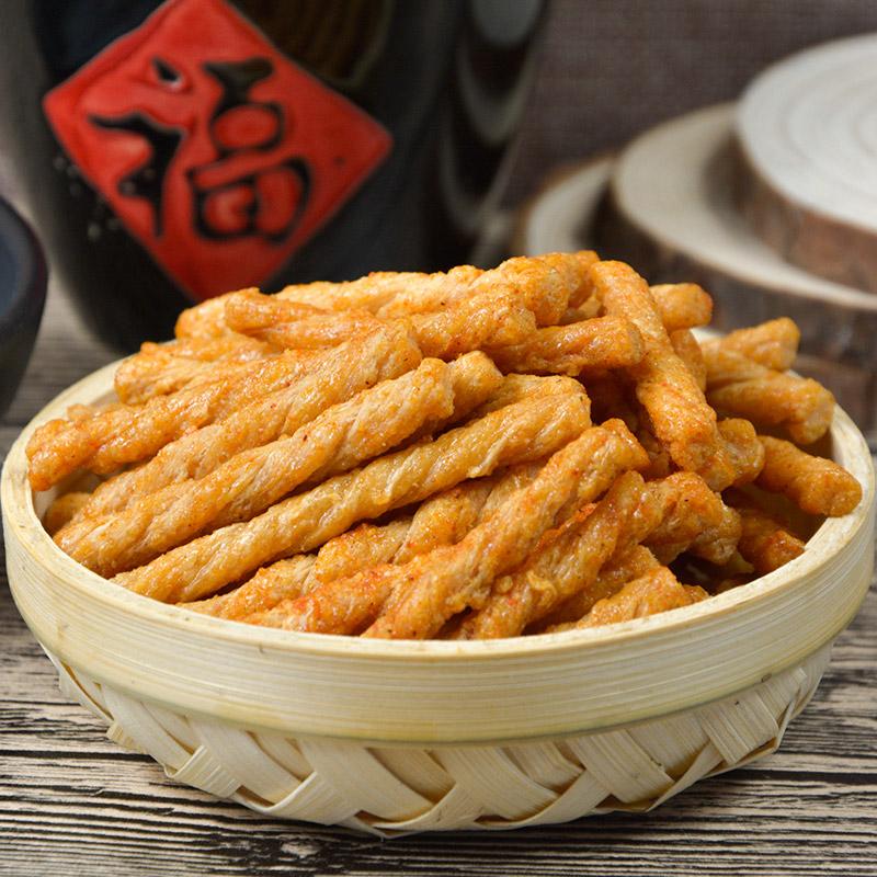西溪糕团铺 香脆糯米小麻花200g微辣番茄海苔黑米4味杭州零食特产