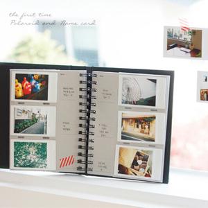 韩版3寸拍立得相纸4寸手机in打印照片相册 火车票电影票收藏集本