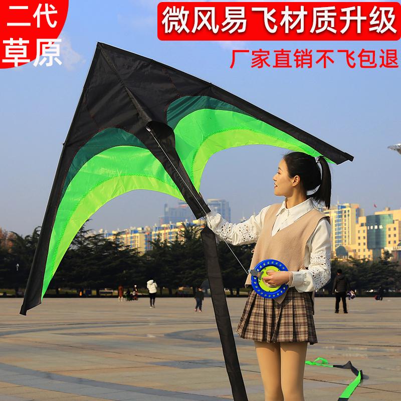 1.28米潍坊卡通易飞长尾风筝