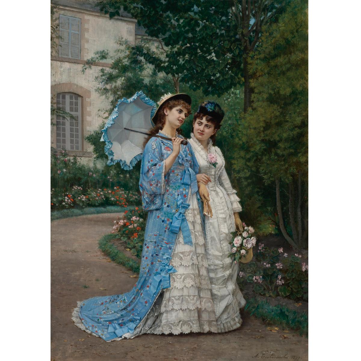 60-84图集世纪欧洲宫廷油画MH-B17-19#0289芯人物装饰画国外油画