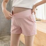 【组合款】孕妇短裤子夏季时尚外穿夏天宽松薄款打底运动阔腿夏装