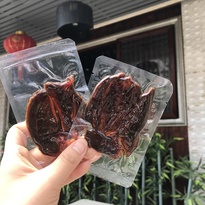 Honey beef tendon meat Wenzhou jerky vacuum small package Huling beef tendon meat barrel
