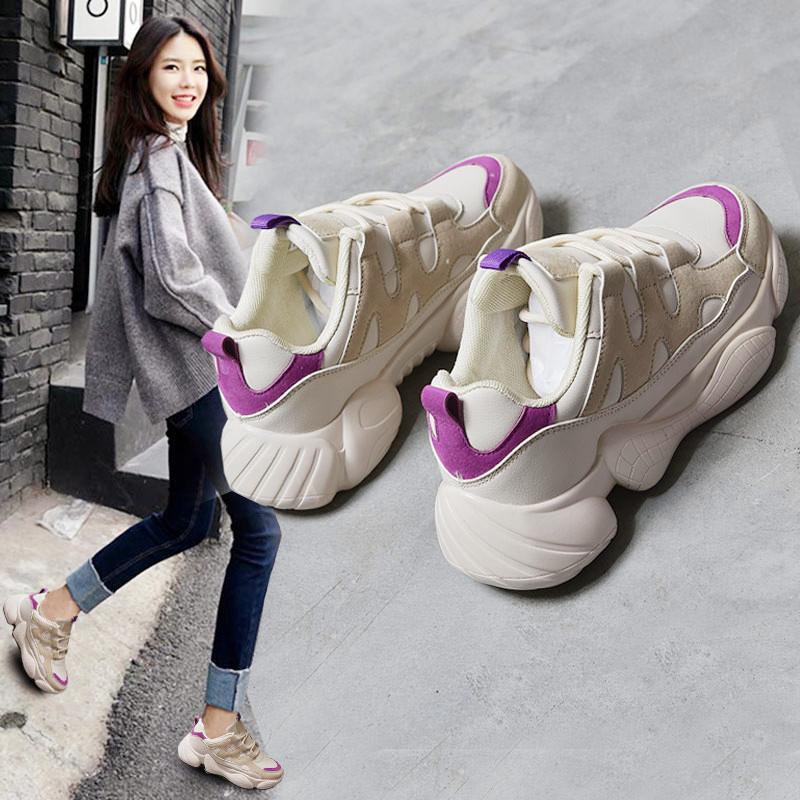 网红老爹鞋女ins超火运动鞋学生智熏鞋2019新款春季鞋子百搭韩版