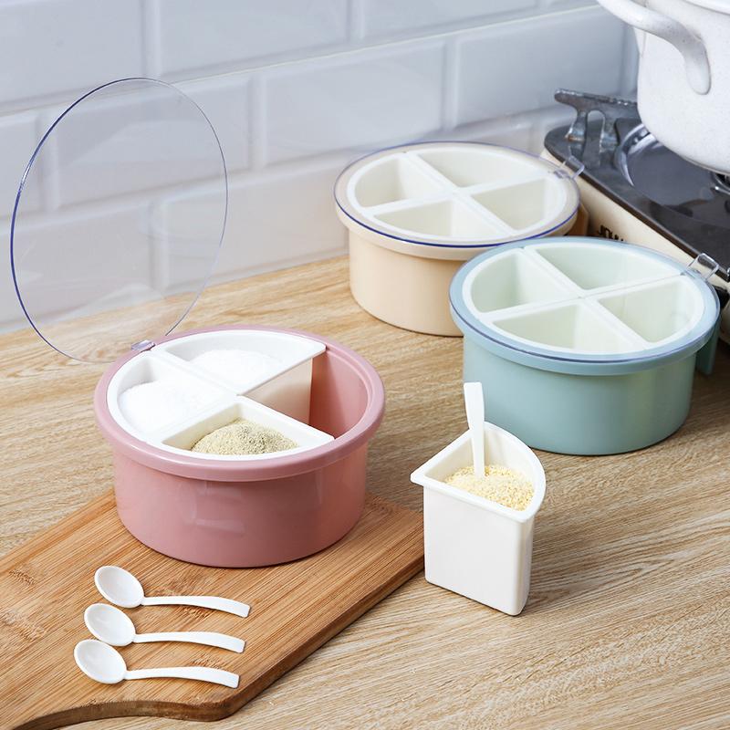 调料盒家用厨房用品塑料调味瓶罐子12月01日最新优惠