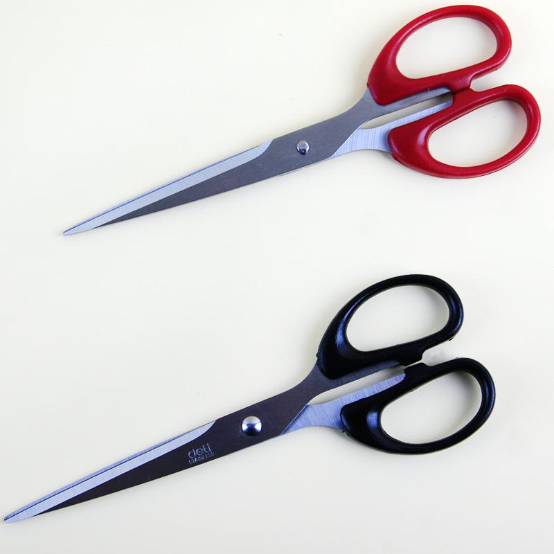 Компетентный нержавеющей стали ножницы вырезать шить ножницы цвет в соответствии с ситуацией кухня офис большой размер шить ножницы многофункциональный домой ножницы сын