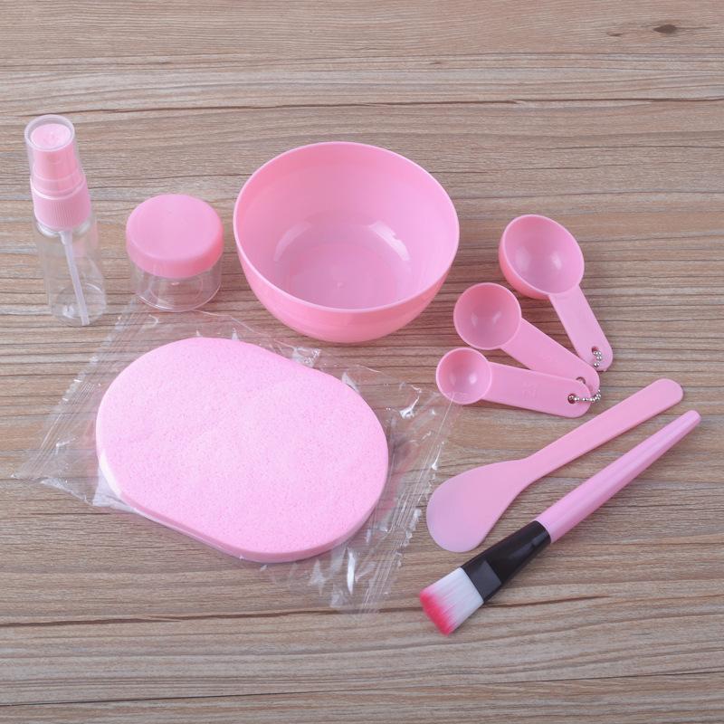面膜刷刷子软毛脸部水疗美容院用品化妆调膜棒DIY面膜碗套装工具
