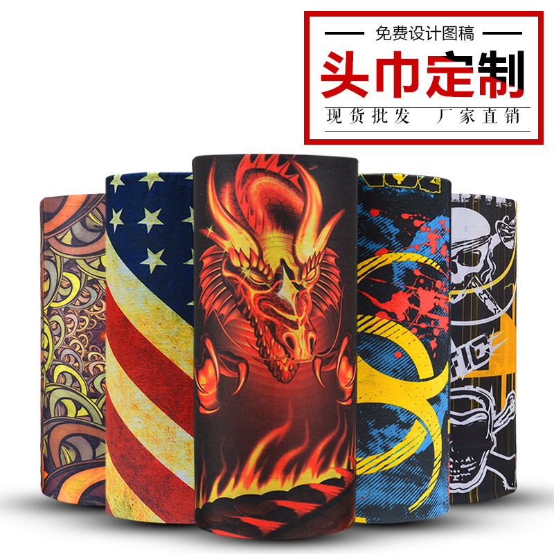 Outdoor sunscreen scarf mens neck cover womens spring and autumn thin style summer fashion magic scarf summer UV protection