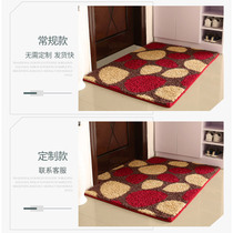Entrance door pad Door pad mat Entrance Carpet foyer anti-slip pedal cushion bathroom toilet door mat customization