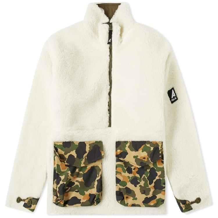 Arkair Borg mammoth jacket mens casual sports jacket cotton sweater cotton coat