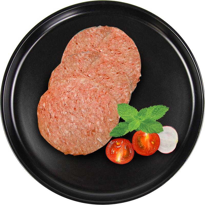 内蒙古大草原 儿童早餐牛肉饼 汉堡肉饼三明治肉饼