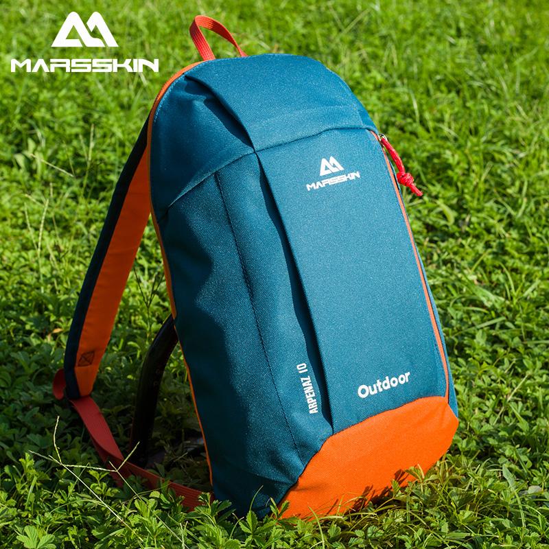 戶外運動雙肩背包多功能登山包男女兒童10L休閑小書包輕便旅行包