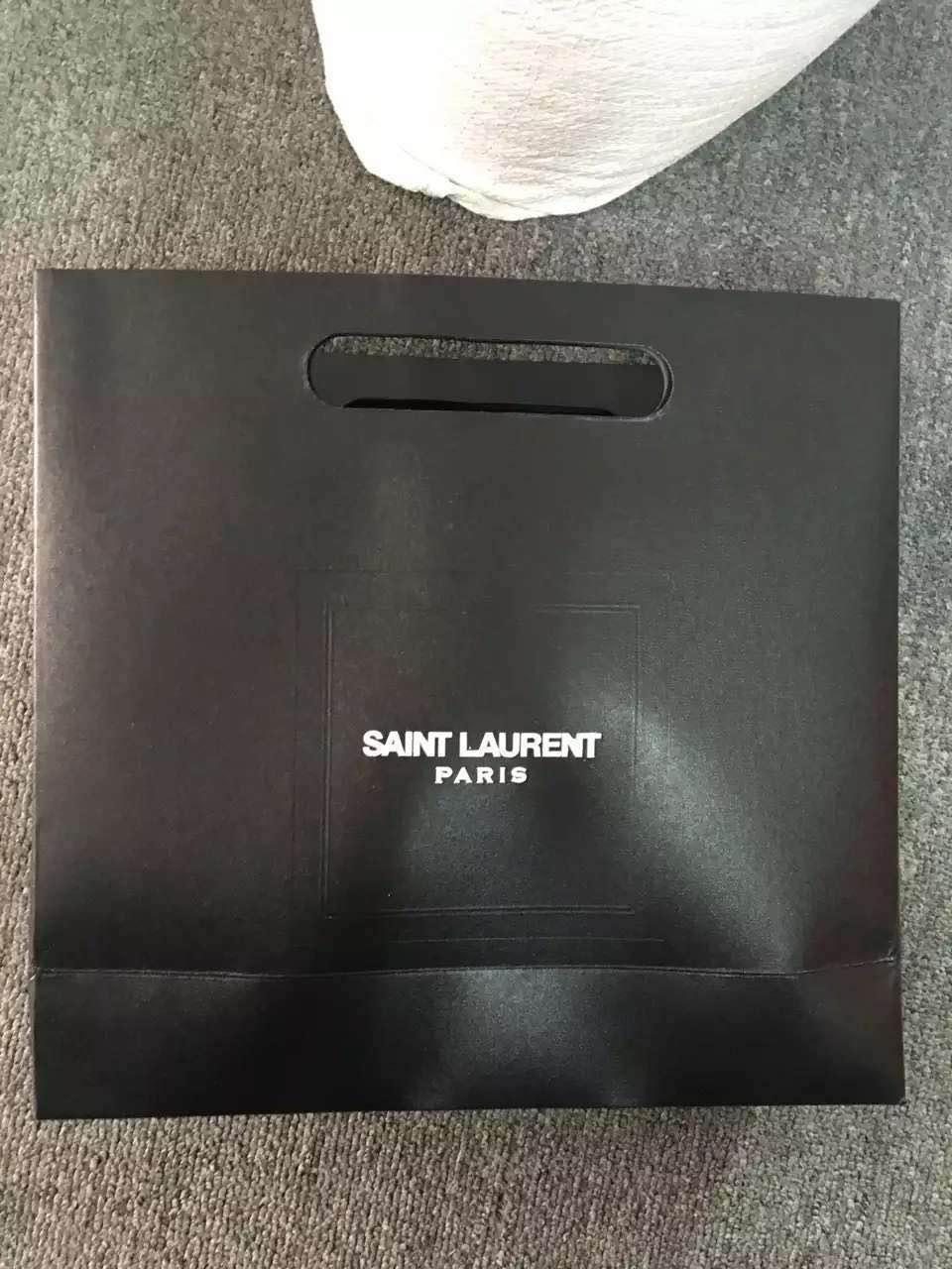 SLP оригинальный ведущих этикетки бумаги мешок подарочный мешок сумки сумочка пользовательских пятна Аксессуары