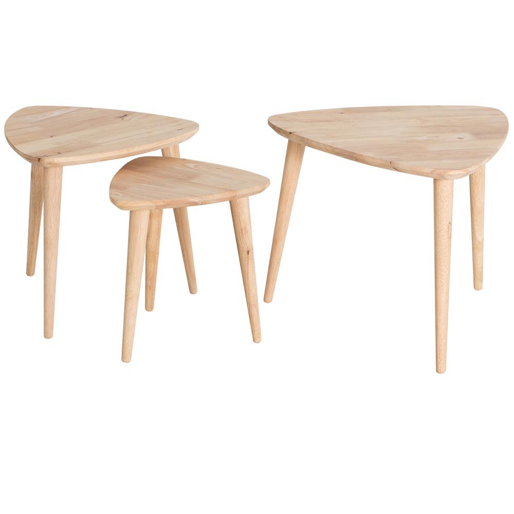 Современный простой маленький столик ikea край стол гостиная треугольник угловой дерево кофе стол нордический творческий сторона