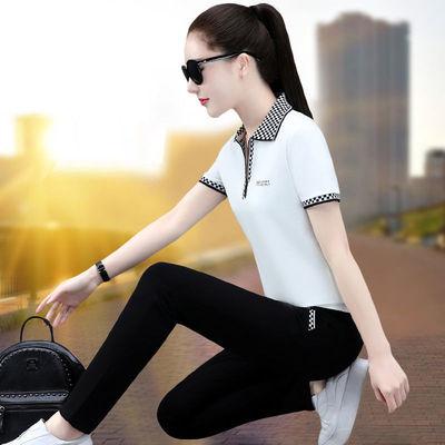 2021新款夏季休闲运动服套装长裤