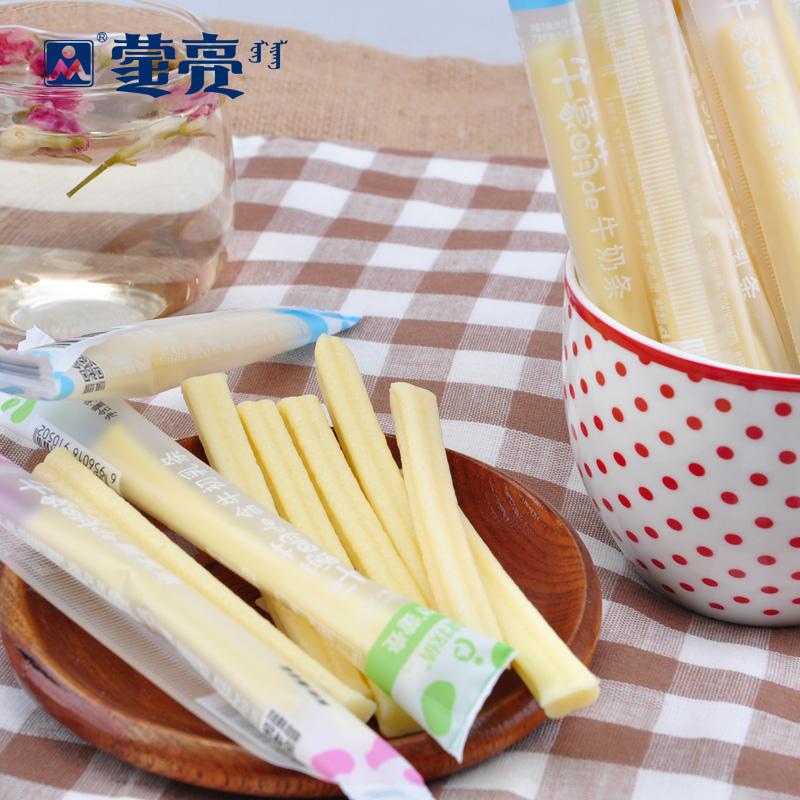 蒙亮 奶酪 内蒙古特产儿童奶条奶棒 袋装零食小吃 3种口味360g