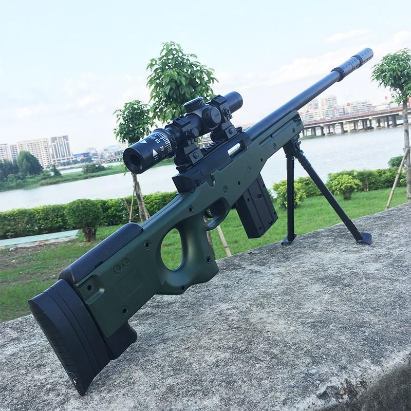 玩具低价清仓包邮儿童仿真模型绝地求生可发射水弹98k吃鸡M狙击抛