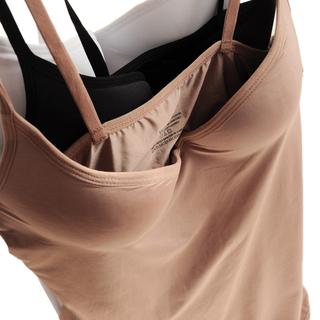 文胸+吊带一体式修身百搭款 瑜伽健身聚拢罩杯款打底吊带背心包邮