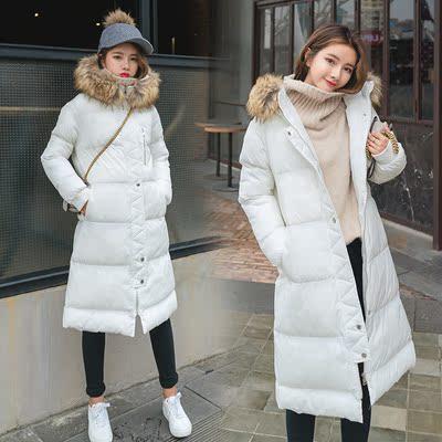 实拍+视频 大货 新款中长款加厚棉服女外套8410 F002-P155控价218