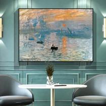 粉色立體金箔玄關掛畫ins手繪油畫北歐現代簡約客廳沙發裝飾畫
