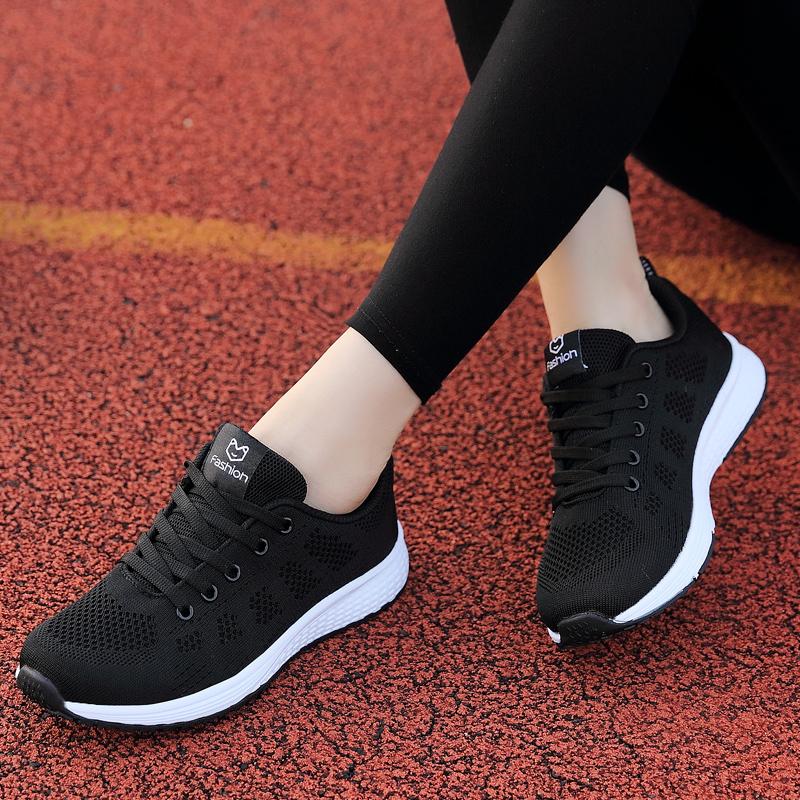 狄威 乔丹女鞋运动鞋秋季网面休闲鞋轻便学生透气编织跑步鞋女361