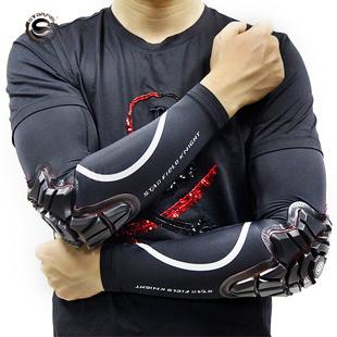机车网星空骑士摩托车冰袖防护夏季护肘防摔护具骑行冰丝套袖男女图片