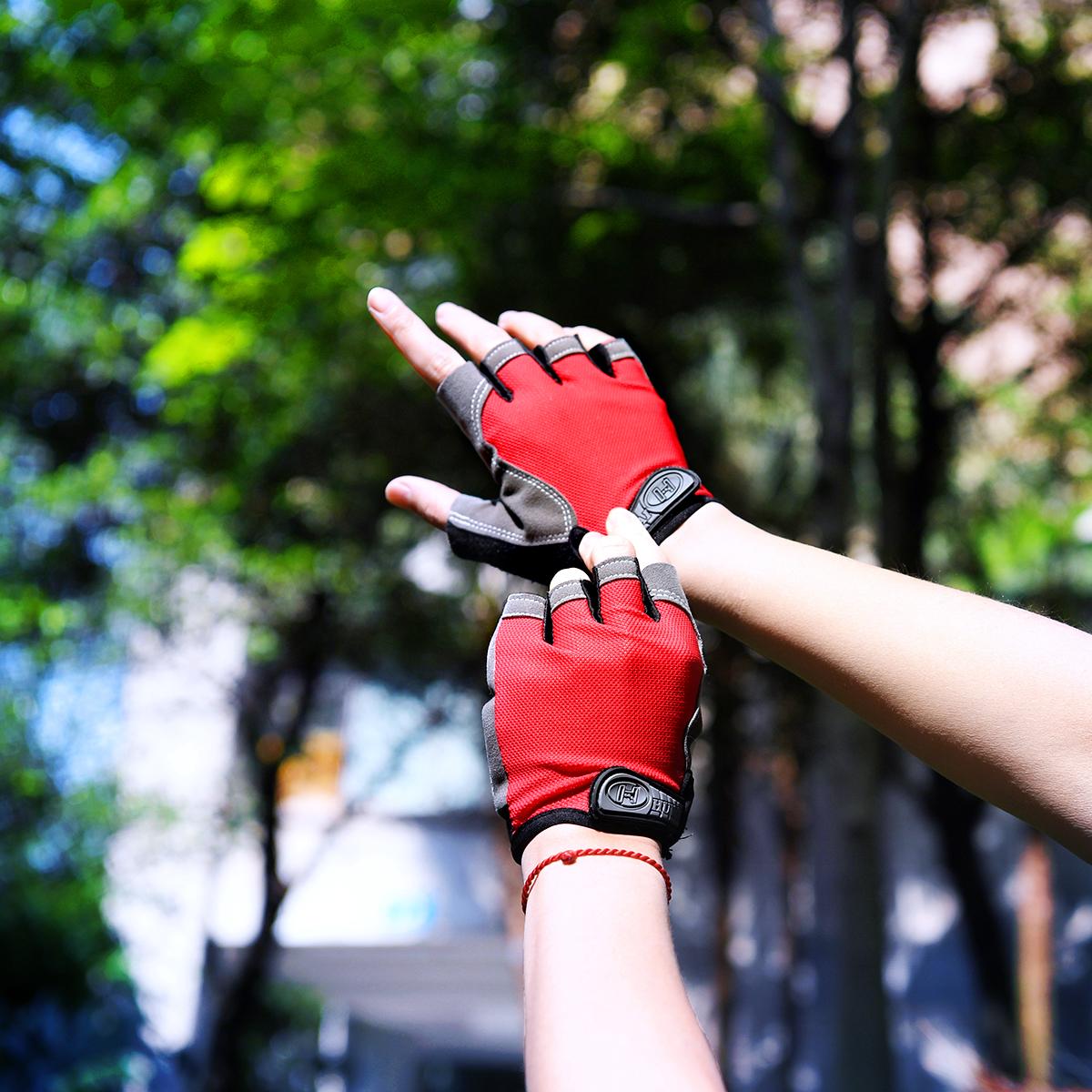Мужские перчатки без пальцев Артикул 616282502887