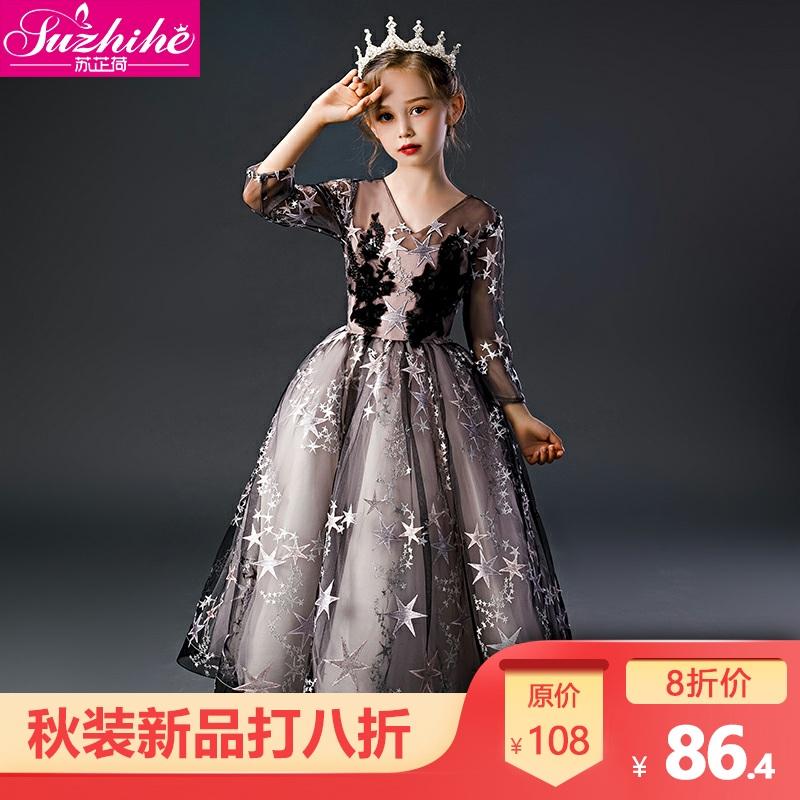 连衣裙秋装2019新款儿童公主裙子(非品牌)