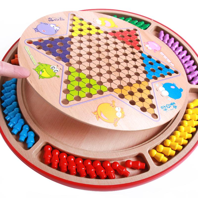 Прыжки шахматы для взрослых ребенок играть лотков и лестниц. пять сын шахматы джунгли шахматы отцовство интерактивный студент головоломка игра шахматы категория игрушка