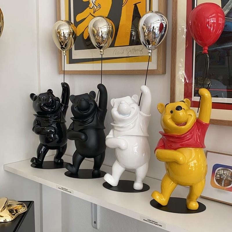 法国Leblon Delienne Winnie 维尼熊摆件创意玩偶礼品卡通礼物