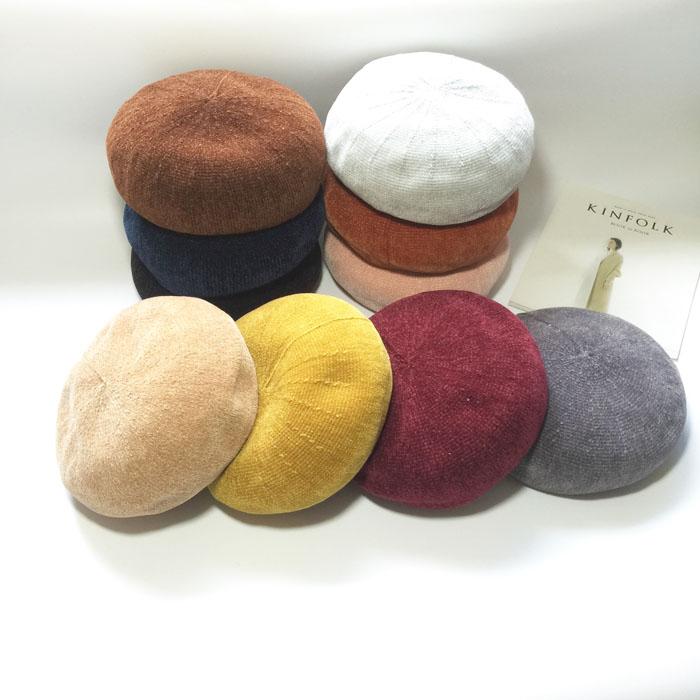 ベレー帽女性は春夏ファッションで、秋冬のライト芯の?の画家帽子の韓国版の百?の通気性の帽子は起きません。
