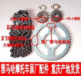 雅马哈摩托车JYM125天戟天剑劲傲天隼YBR125套链齿轮链盘链轮链条图片