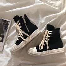 B1194冬新款搭扣侧拉链女长靴子2019国内专柜正品代购思加图长靴
