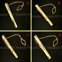 Мужской официальный стиль серебряный Зажим для галстука популярный простой корейская версия металлический Профессиональный зажим для галстука