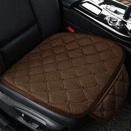 汽车内用品主副驾驶员冬天单片座椅垫子四季通用冬季单个毛绒坐垫