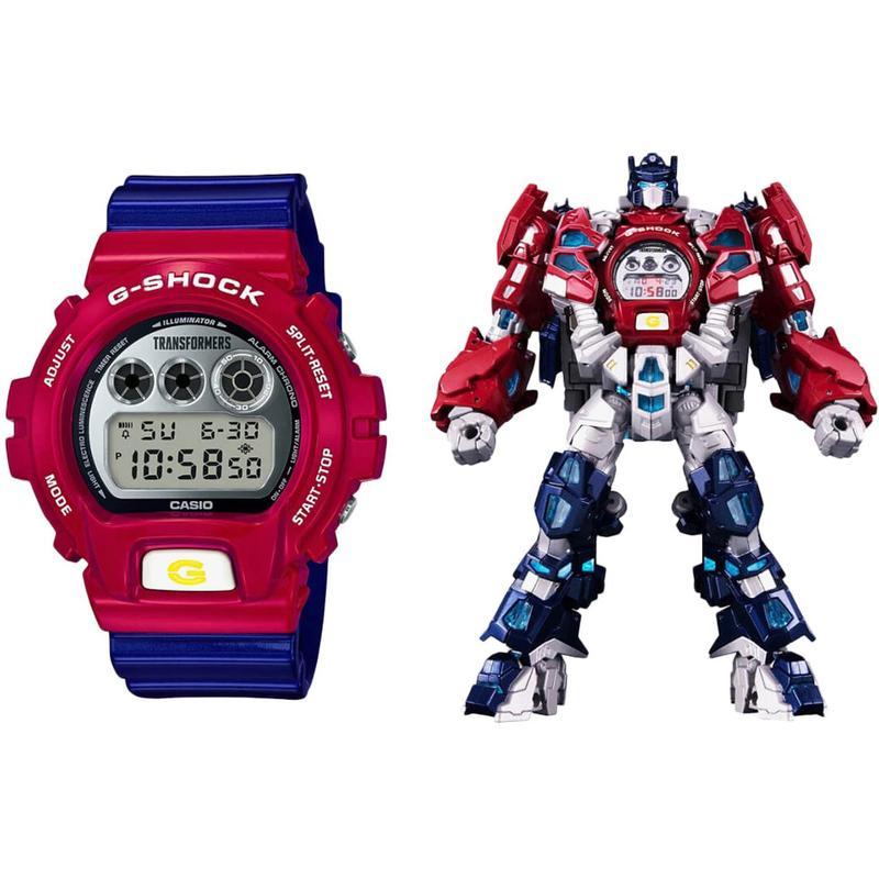 Casio Casio mens overseas purchasing watch dw6900tf-set fashion and comfort counter punk rock