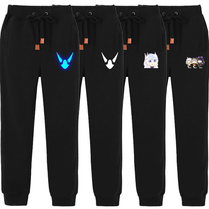 Noctilucent collapse school 3 pants bazhongying spring and autumn pants two dimensional Leggings animation peripheral cos casual pants