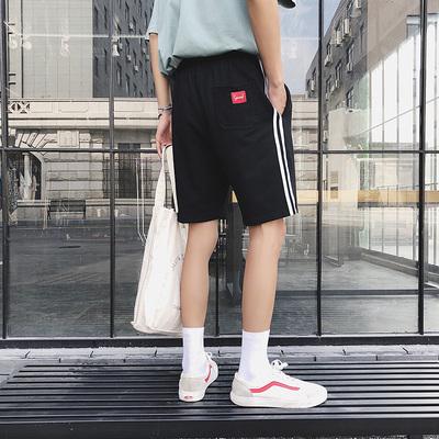 A203 棉 25%涤纶75%夏季短裤男休闲时尚五分裤潮裤 K5001-P35