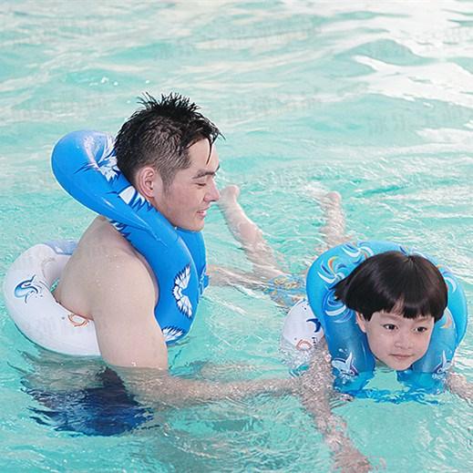 券后27.46元大人加厚成人儿童腋下学初学游泳圈