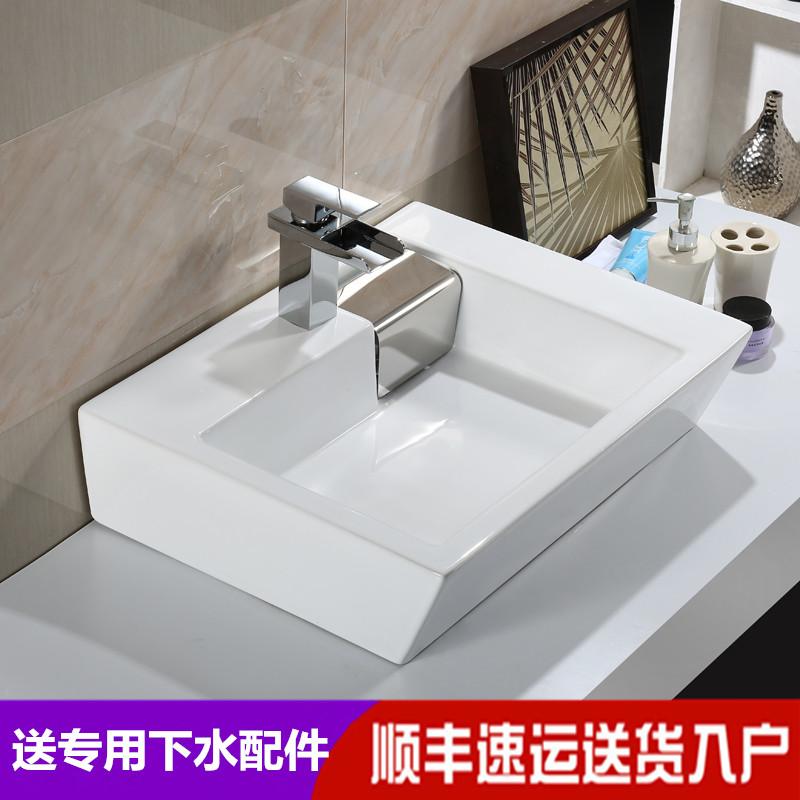 Новая коллекция Тайвань верх Бассейн умывальник умывальник стильный умывальник ванная умывальник сторона Скрытая сторона низ воды