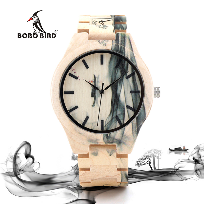 Watch mens brand large dial retro simple Chinese fashion trend waterproof 2018 new quartz watch