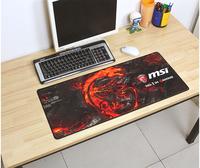 Msi микро звезда 3mm коврик для мыши негабаритный 700X300 игра чистый бар анимация ноутбук подушка ослеплять дракон коврик для мыши
