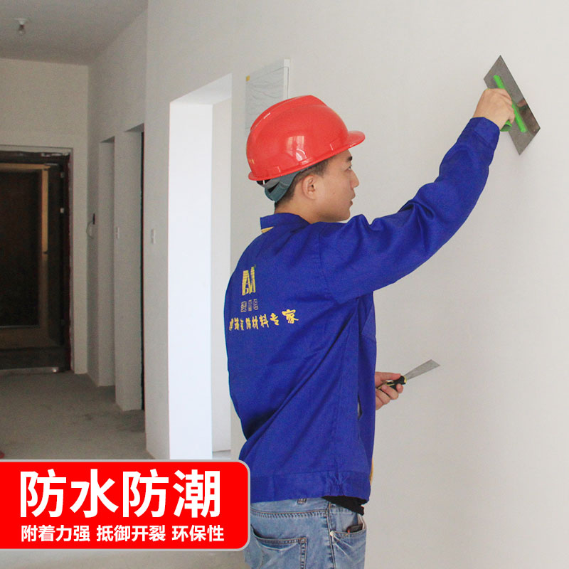 内墙防水防霉腻子涂料耐水修复膏补墙膏墙面修补粉大白原子灰家用