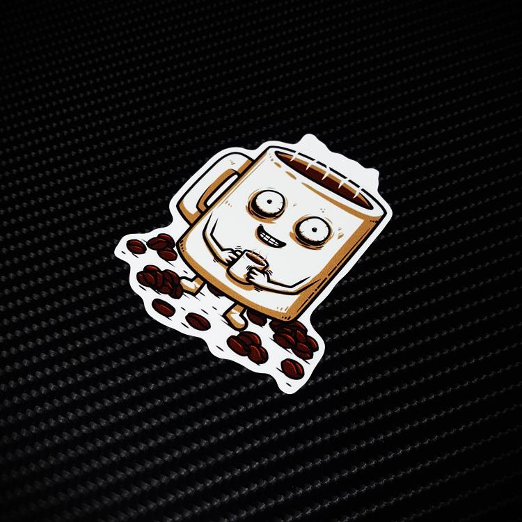 个性卡通潮牌行李旅行箱贴纸个性防水汽车贴 笔记本电脑贴纸X0052