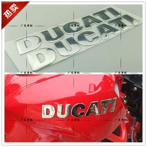 杜卡迪1198怪兽696大魔鬼848 749油箱立体贴标贴纸DUCATI立体标志