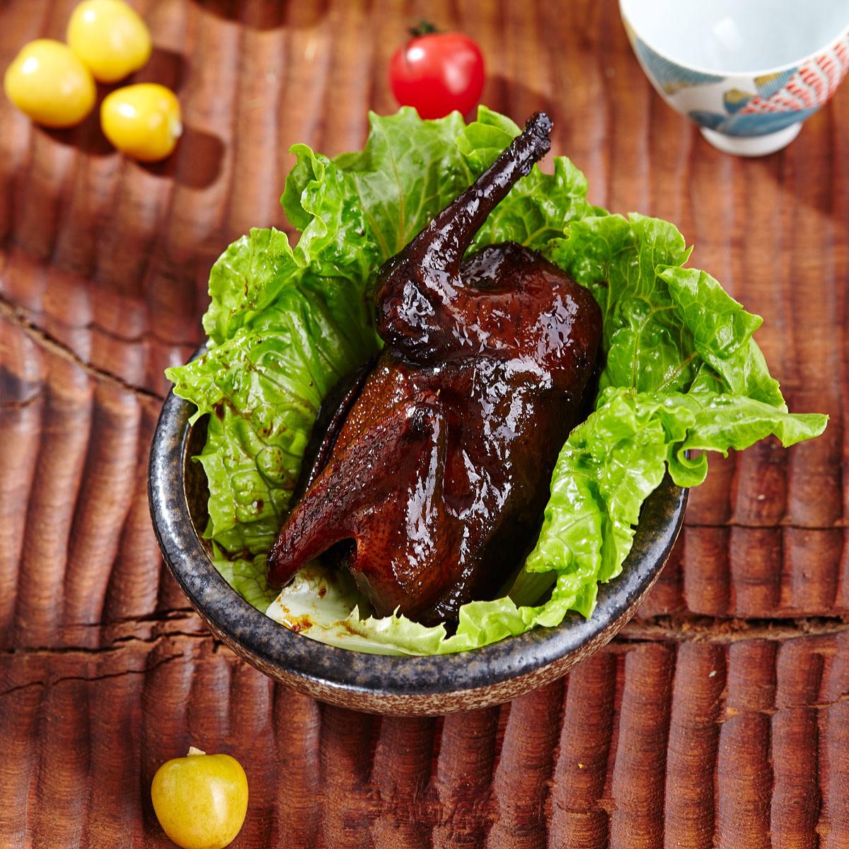 【一鸽食堂】鲜美乳鸽卤味烤散养土鸽休闲零食卤味即食零食250g