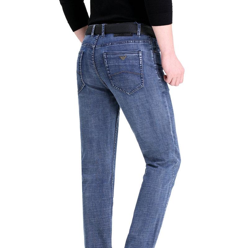 进口高级名牌男士牛仔裤正品牌欧版时尚休闲长裤中青年男式直筒裤