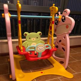 儿童室内荡秋千吊椅宝宝家用秋千户外婴幼儿摇篮三合一玩具0-3岁