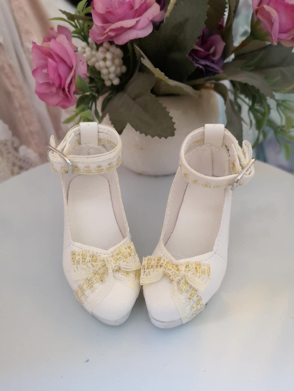 BJD 3-point shoes 60cm baby shoes 3-point BJD / SD DD / yeluoli / Xinyi shoes high heels princess shoes